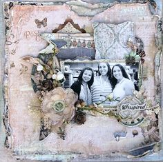 Tiffanys Paper Designs: Inspired 12x12 layout share.