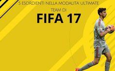 Cinque INCREDIBILI TALENTI che faranno il loro esordio nella modalità Ultimate Team FUT di FIfa 17 Prosegue la nostra marcia di avvicinamento a Fifa 17. Oggi abbiamo deciso di selezionare per voi cinque giovanissimi talenti che non erano presenti in Fifa 16 e che per questo faranno il loro esordio #fifa17 #migliorigiocatori #esordienti