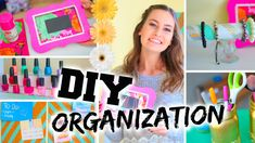 DIY Room Organization + Easy Ways to Organize! by PrimroseMakeup the bracelet stand is super cute! Bedroom Crafts, Diy Room Decor, Bedroom Stuff, Room Decorations, Bedroom Ideas, Decorate Your Room, Hacks Diy, Diy For Girls, Diy On A Budget