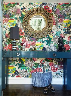 The Chinoiserie Entryway                                                                                                                                                                                 More