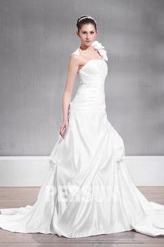 Fantastico #Abito da #Sposa con Taglie #Forti BJ31073 - Persunit.com