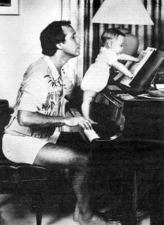 This is how I imagine life would be with Chevy Chase as my god-father. --Which he totally is. And Steve Martin is my daddy. Try and tell me differently!