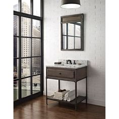 Fairmont Designs: Toledo Open Shelf Vanity - Driftwood Gray at ModernBathroom.com. Get free shipping and factory-direct savings.
