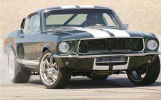 1967 Mustang fastback.......... My dream car!