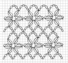 Captivating Crochet a Bodycon Dress Top Ideas. Dazzling Crochet a Bodycon Dress Top Ideas. Crochet Motifs, Crochet Diagram, Crochet Stitches Patterns, Crochet Chart, Crochet Doilies, Crochet Flowers, Knitting Patterns, Crochet Patterns Free Women, Crochet Simple