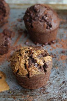 Muffins super faciles au cacao (vegan)