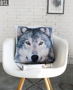 Find More Cushion Information about H3167 Modern Soft Velvet Printing Wolf Cushion Cove Animal Throw Pillow Case Sofa Pillow Winter Christmas Gift Home Decoration,High Quality home decor wall hangings,China home decorating flowers Suppliers, Cheap home decor wall color from Homestar Industrial & Trading Co., Ltd on Aliexpress.com