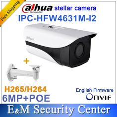 Wholesale Original Dahua 6MP bullet IPC-HFW4631M-I2 IP Camera IR 80M POE CCTV replace IPC-HFW4431M-I2 with bracket IP67  Price: 112.99 & FREE Shipping #computers #shopping #electronics #home #garden #LED #mobiles #rc #security #toys #bargain #coolstuff  #headphones #bluetooth #gifts #xmas #happybirthday #fun Bullet Camera, Camera Lens, Cctv Security Systems, Fixed Lens, Protecting Your Home, Cool Tech, Windows Phone, Focal Length