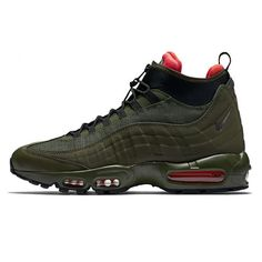 the latest 0159d ad42c Nike Air Max 95 Sneakerboot Mid Dark Loden 806809-300 Mens Collection  Trainers