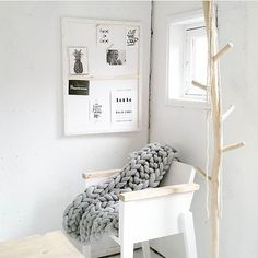 ⠀ // Corner decor  / We are in love with the blanket  / Tag your photo with #mynordicroom  //⠀ Photo credit: @no7.goodiesbytamara ⠀ .⠀ .⠀ .⠀ Don't miss out on your daily Nordic interior design inspiration! Follow us on Facebook  / Link in bio