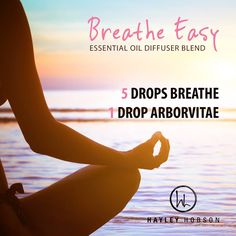 This essential oil diffuser blend with have you breathing easy in no time. Arborvitae protects against environmental and seasonal threats and provides a sense of peace and calm. Breathe proprietary blend combines Laurel Leaf, Peppermint, Eucalyptus, Melaleuca, Lemon, Ravensara, and Cardamom essential oils to provide feelings of clear airways and a fresh minty scent. It's a perfect accompaniment for your yoga studio or exercise room, and great to diffuse during meditation…