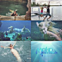 Mako Mermaids - Season 2...I just finished the second season. D: (I think they are going to add the second half of season two because there are only 13 episodes right now and that's what they did with the first season; put 13 episodes and then later on add 13 more. This season isn't over yet)