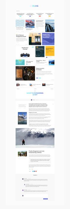 Patagonia UI is a web Ecommerce UI Kit crafted in Photoshop, using a 12 Column Bootstrap grid with 1170px width. This kit includes 130+ UI components, and 1000+ UI elements, and three pre-made example page templates based on Blog, Article, & Ecommerce. Patagonia is well organized & easy to customize, this UI Kit is a must for your next project!