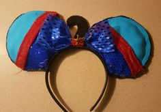 Genie minnie mouse ears  Made by: Catherine Jordan