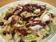 That Old Oven: Barbeque Chicken Salad