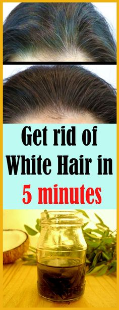 Get rid of white hair in 5 minutes – AlljustEasy