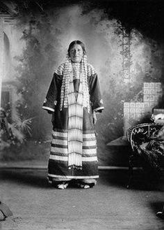 Mrs. Anthony Vaulters - Hunkpapa - circa 1900