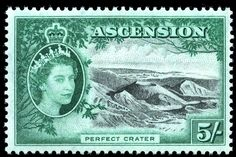 Ascension Island, 1956, Perfect Crater
