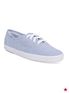 This checked pattern on Keds' Gingham sneakers? So charming. Can't you just see it with an adorable sundress or romper. Click through to shop in even more cool colors.