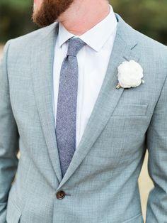 groom fashion - photo by Elisabeth Carol Photography http://ruffledblog.com/picturesque-garden-wedding-at-white-sparrow-barn