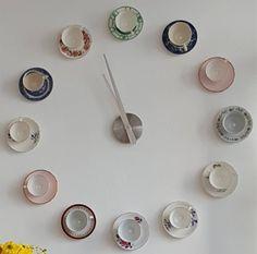 Teacup clock - Millie & Me, Brixham