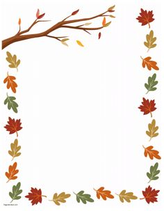 Fall Themed Page Borders - Border News Wallpaper HD File Decoration Ideas, Page Decoration, Page Borders Free, Page Borders Design, Boarder Designs, Frame Border Design, Free Printable Stationery, Templates Printable Free, Printable Labels