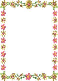 handmade card border design inspirational free printable borders flowers of handmade card border design. Free Frames And Borders, Page Borders Free, Boarders And Frames, Page Borders Design, Borders For Paper, Printable Border, Printable Frames, Free Printable, Printable Flower