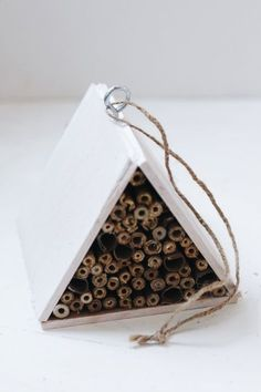 How to Help The Bees: Build a Mason Bee House | Free People Blog #freepeople