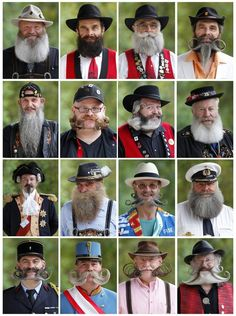 The 25 Best Pictures From The 2012 World Beard And Mustache Championship