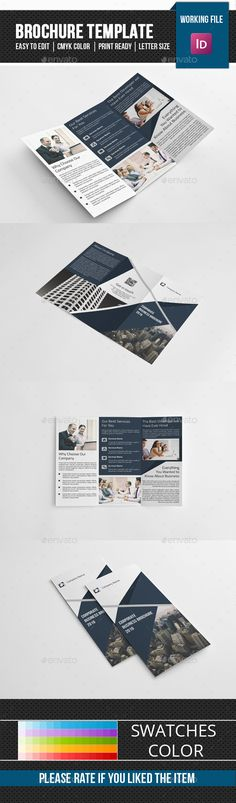 Corporate Trifold Brochure-V283 - Corporate Brochures