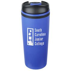 View a larger, more detailed picture of the Arrow Grip Travel Tumbler - 14 oz