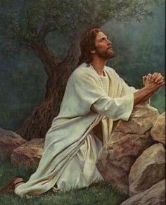 En el monte de los olivos oracion del huerto