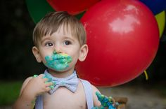 First Birthday / Cake Smash with Curly Girl Photography