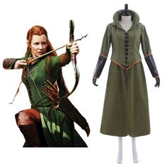 >> Click to Buy << The Hobbit Cosplay The Hobbit Desolation of Smaug Tauriel Dress Costume Adult Women's Halloween Carnival Costume Cosplay #Affiliate