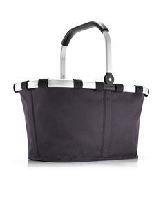 reisenthel® carrybag graphite: perfect farmer's market basket