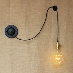 Find More Wall Lamps Information about new design DIY antique retro black metal ball wall lamps for workroom bedside bedroom wall Lights,High Quality ball track,China lamp g4 Suppliers, Cheap ball cord from Newatmosphere Lighting Co., Ltd. on Aliexpress.com