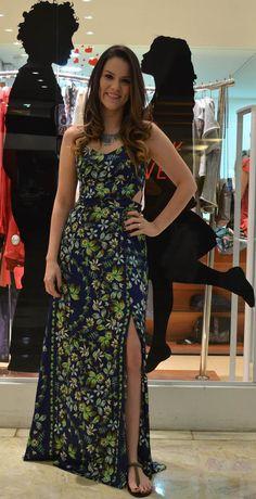 Vestido longo - dress to