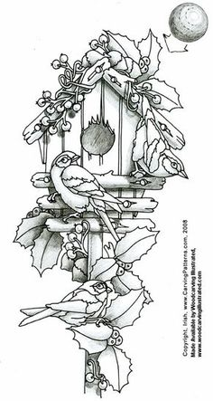 free turkey patterns to paint on wood | FREE WOOD BURNING PATTERNS | Browse Patterns
