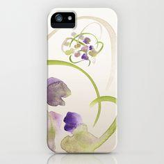 Atom Flowers #19 iPhone & iPod Case by Marina Kanavaki - $35.00