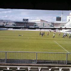 Photo taken at Estadio Municipal Castalia by Maria A. on 5/6/2012