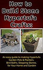 With this DIY hypertufa planter tutorial you can inexpensively make your very own garden containers out of concrete!
