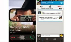 Just yesterday, Blackberry inked an agreement with the South Korean LG, according to which, Blackberry's instant Messaging App BBM will come per-installed in LG phones of which, the first one will be LG G Pro Lite.  Now the Canadian QWERTY smartphone maker has announced some more updates that could excite most of the BBM users in Android and iOS devices.