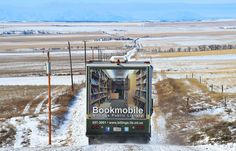 Billings Public Library's Bookmobile takes entertainment to array of rural Montana residents Library Week, Library Room, Books On Tape, Librarian Style, Vintage Library, Business Class, Find Picture, Montana, Public
