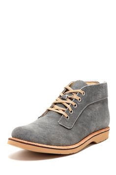 Vintage Boot Jerry Charcoal Canvas Ankle Boot