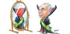 Por Dentro... em Rosa: Mais uma vez a Democracia Brasileira é golpeada !
