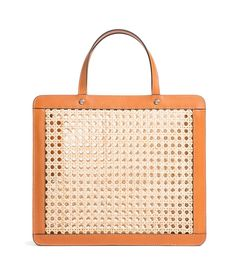 Palmgrens - Rattan Bag Classic - Genuine handcrafted leather since 1896