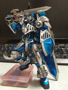 1/144 Gundam Astray Blue Frame Knight - Custom Build