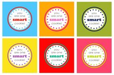 One Smart Cookie Printable