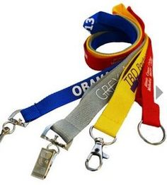 3 4 Polyester Lanyards 20 Mm Trade Show Giveaways Lead Time