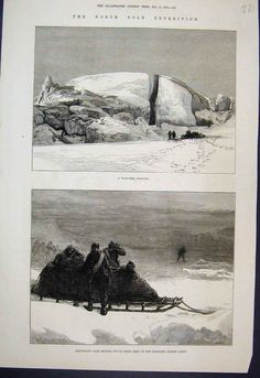 §§§ : The North Pole Expedtion : The Illustrated London News : 1876